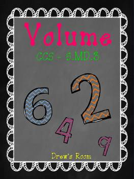 Volume Packet - 5.MD.3