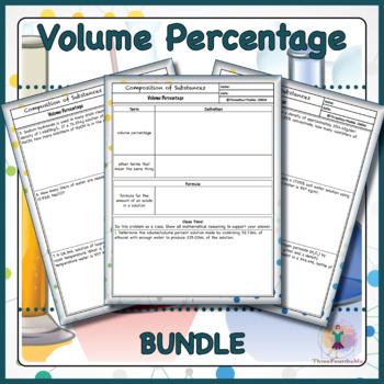 Volume Percentage BUNDLE