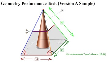 Performance Task - Volume and Surface Area Sample