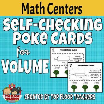 Volume Poke Cards