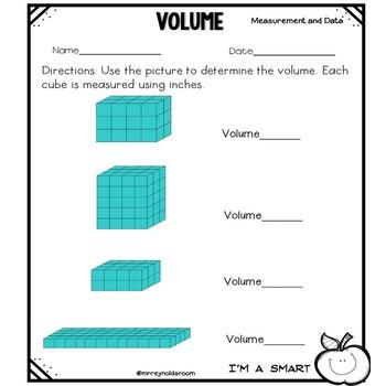 Volume Practice Sheets
