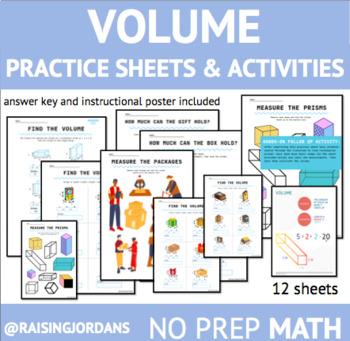 Volume Practice Worksheet