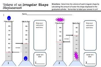 Volume Practice for Science