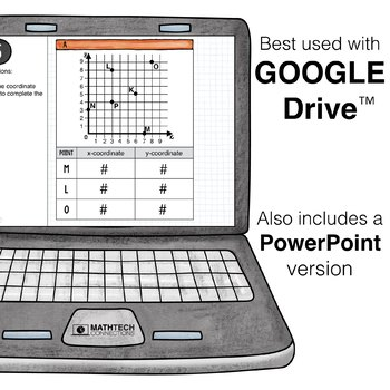Coordinate Graphing - 5th Grade Digital Interactive Math Center