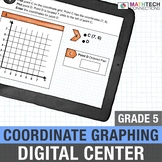 Coordinate Graphing - 5th Grade Google Classroom Interacti