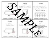 Volume Problem Solving Review Task Cards: Cubes & Rectangular Pyramids