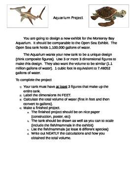 Volume Project - Create your own Aquarium Tank