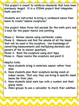 Volume Project STEM