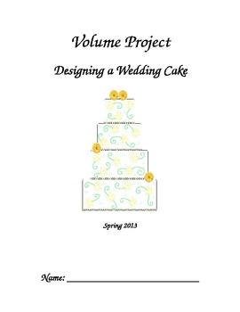 Volume Project- Wedding Cake Design