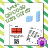 Volume of Rectangular Prisms QR Code Task Cards V=Bh TEKS 5.6B