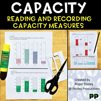Capacity Measurement Reading and Recording Worksheets