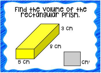 Volume: Rectangular Prisms Boom Cards