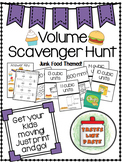 Volume Scavenger Hunt: Rectangular Prisms and Cubes