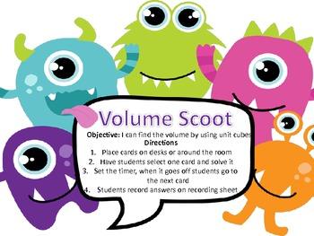 Volume Scoot-Common Core Aligned