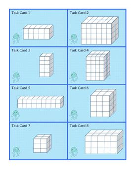 Volume Scoot : Common Core Standard Based