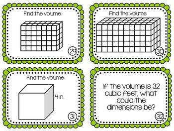 Volume Scoot {Task Cards}