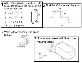 Volume Smart Response Quiz