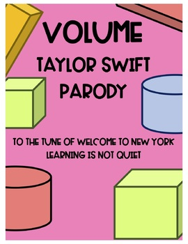Volume Song (Taylor Swift, Welcome to New York) (Song, Themed Worksheet, Video)