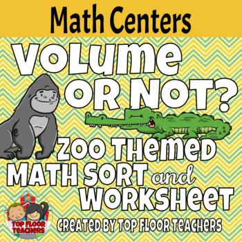 Volume Sort Math Center