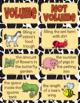 Volume Sort and Worksheet - Zoo Theme