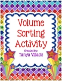 Volume Sorting Cards - Perfect for Math Workshop!