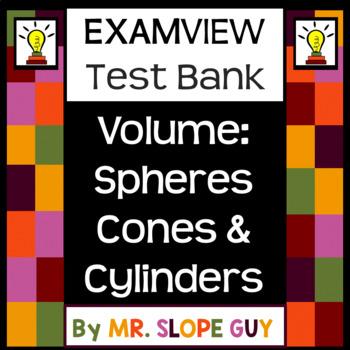 Volume Spheres Cones & Cylinders BNK PDF Common Core 8.G.C