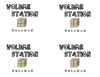 Volume Station