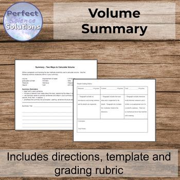 Volume Summary