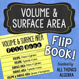 Volume & Surface Area Flip Book