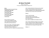 Volume & Surface Area Song (Lyrics only)