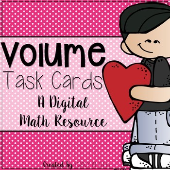 Volume Task Cards: A Digital Resource for Google Classroom