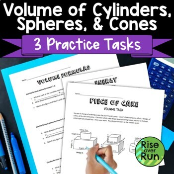 Volume of Spheres, Cylinders, Cones, and Rectangular Prisms