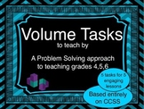 Volume Tasks for Problem-Based Lessons and Centers for Grades 4 to 6