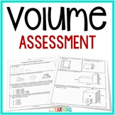 Volume Test: 5th Grade Common Core Aligned