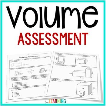 Volume Test: 5th Grade Common Core Aligned