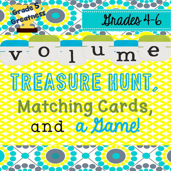 Volume Activities and Math Game