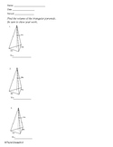 Volume - Triangular Prisms -