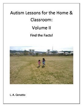 Autism Lessons for the Home & School Volume Two