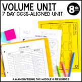 Volume Unit: 8th Grade Math (8.G.9)