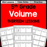 Volume Unit for 5th Grade | Lessons, Practice, Assessment