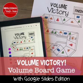 Volume Victory! A Math Board Game