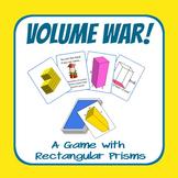 Volume War! A Game for Rectangular Prisms