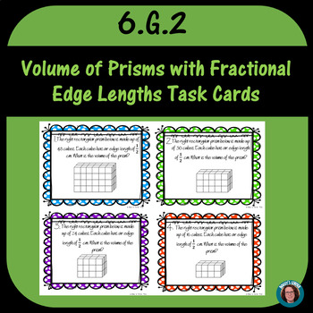 Volume With Fractional Edge Lengths Task Cards