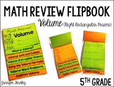 Volume and Additive Volume Review Flipbook
