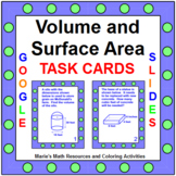 Volume and Surface Area - TASK Cards Combo (40 cards)