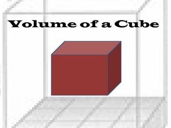 Volume of a Cube Mini Lesson