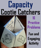 Volume and Capacity Practice Activity 4th 5th 6th 7th 8th