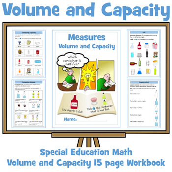 Volume and Capacity: Special Education Math