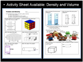 Volume and Density Lesson