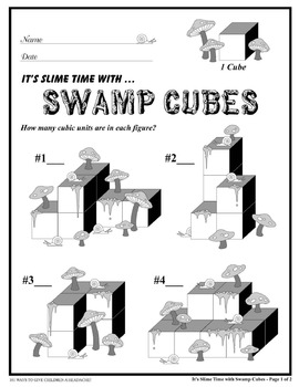 Volume and Hidden Cubes (Common Core Standards)